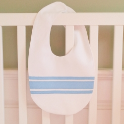 Blue Ribbon Velcro Bib